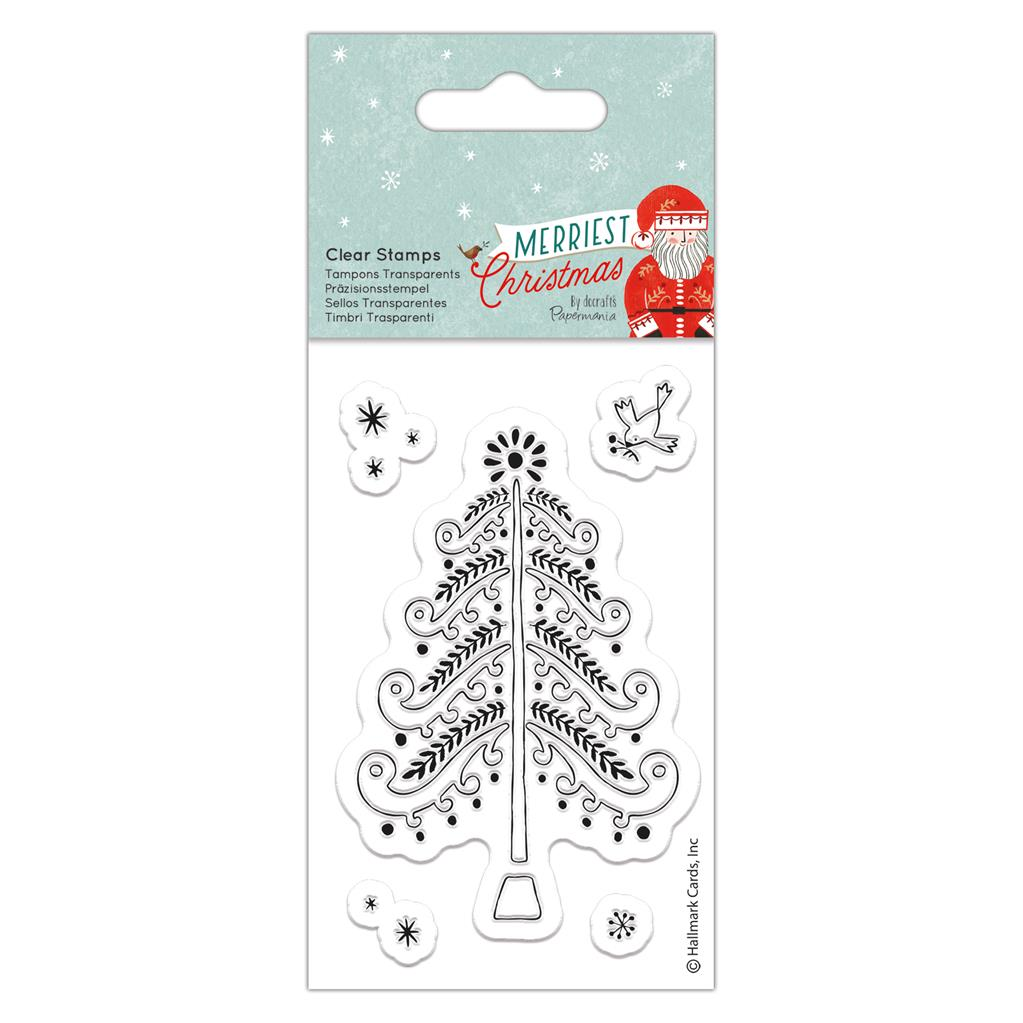 Merriest Christmas Small Clear Stamp Set: Christmas Tree
