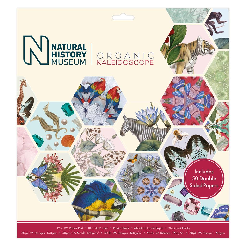 12x12 Paper Pad: Natural History Museum (Kaleidoscope)
