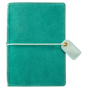 Pocket Traveler: Aspen Green Suede