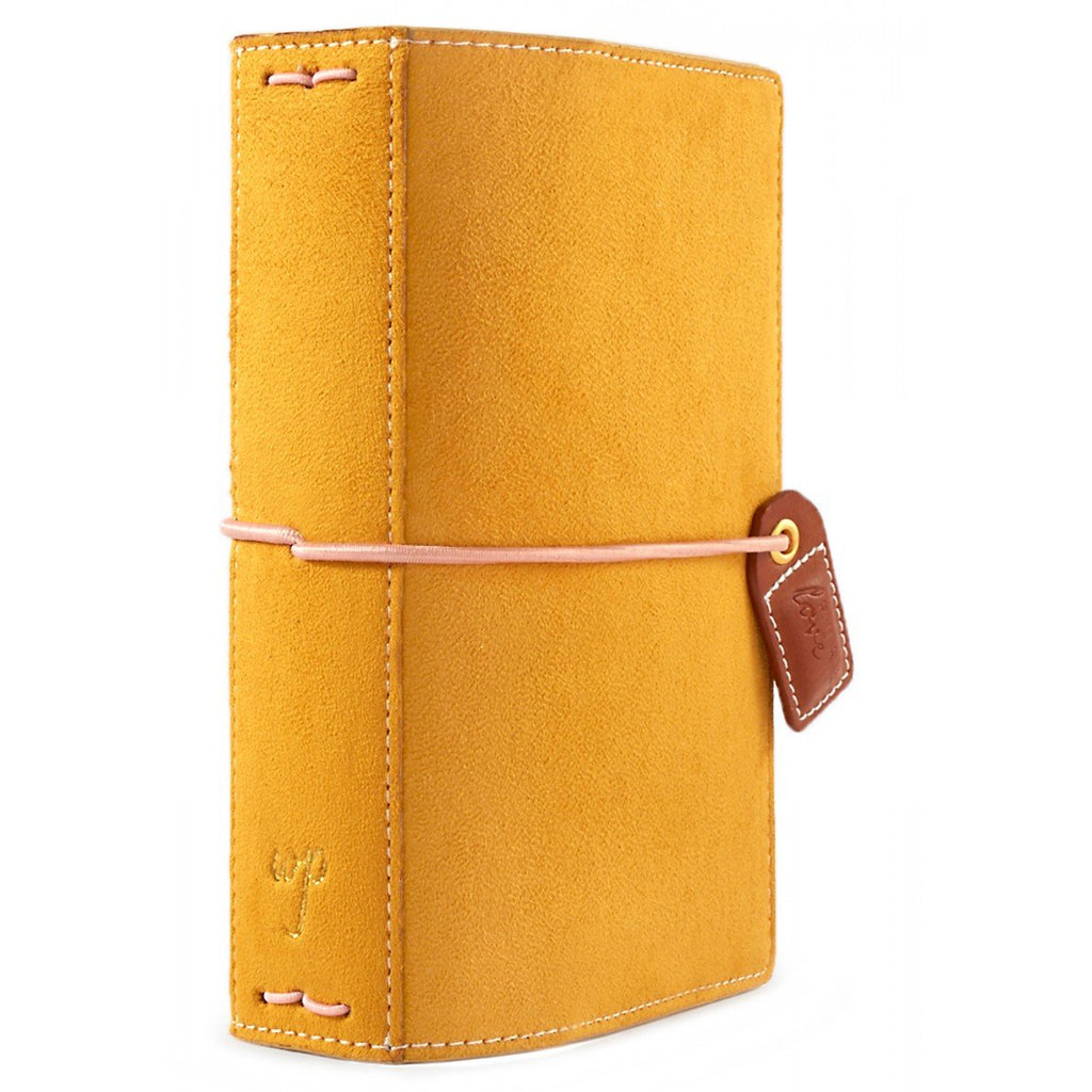Pocket Traveler: Mustard Suede