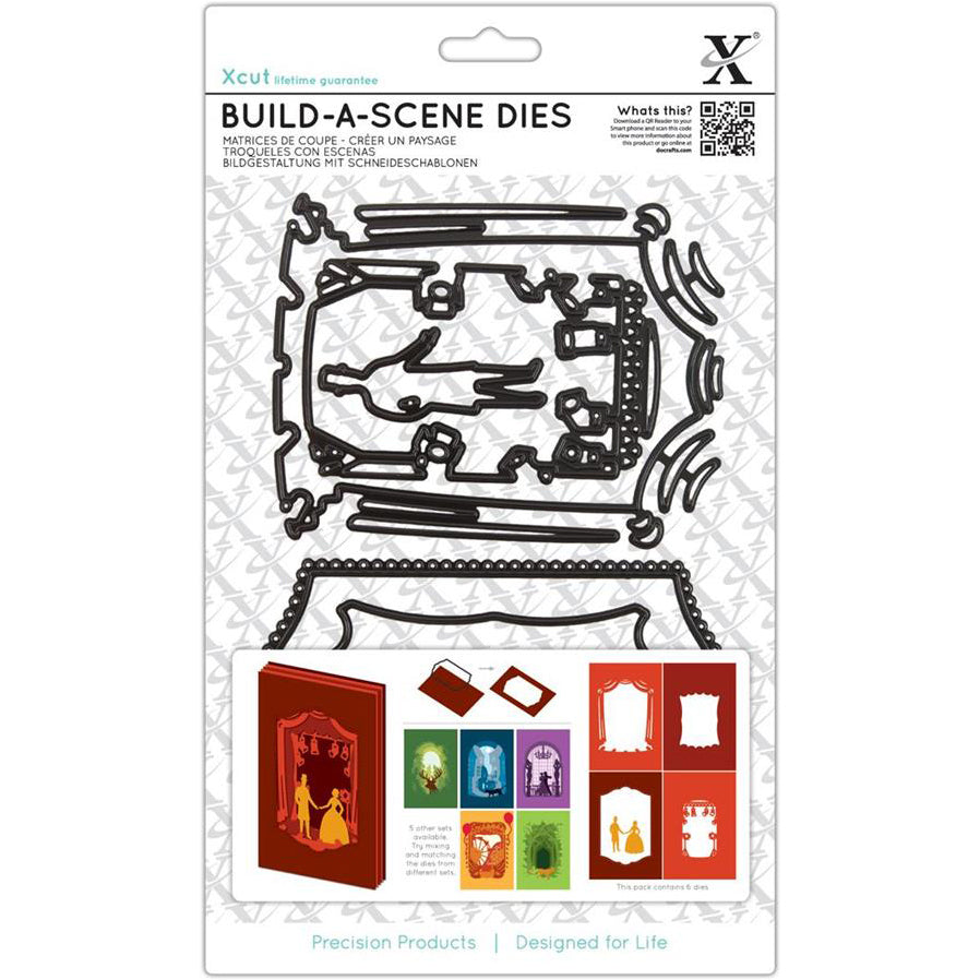 Shadow Box Dies (6PCS): Theatre