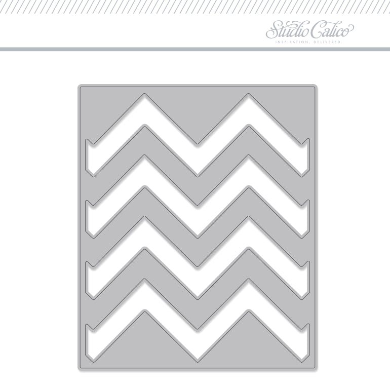 Craft Die: Easter Egg Pattern - Mini Zigzag
