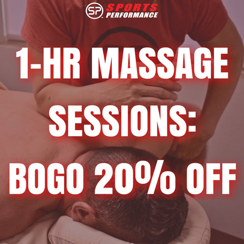 1-hr Massage Therapy: BOGO 20% OFF (1 per person)