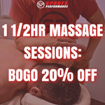 1 1/2-hr Massage Therapy: BOGO 20% OFF (1 per person)