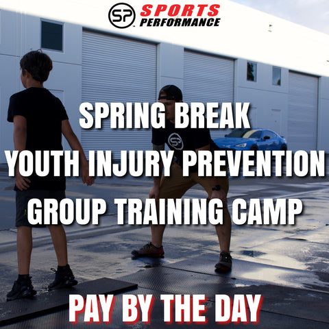 1 Day: Spring Break Youth Injury Prevention Group Training Camp