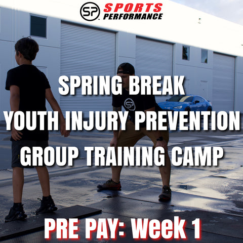 Week 1: Spring Break Youth Injury Prevention Group Training Camp