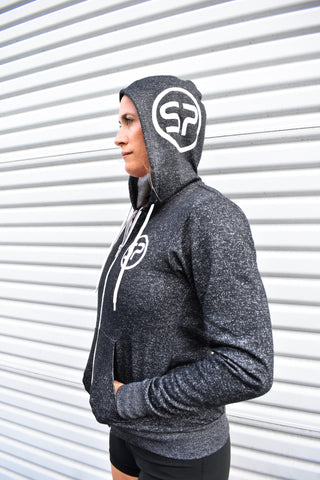 SP Unisex Sponge Fleece Full Zip Up Hoodie