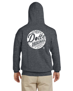 Adult Dark Heather Dotte Hoodie