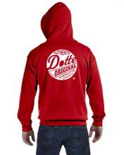 Load image into Gallery viewer, Adult Red Dotte Zip Hoodie