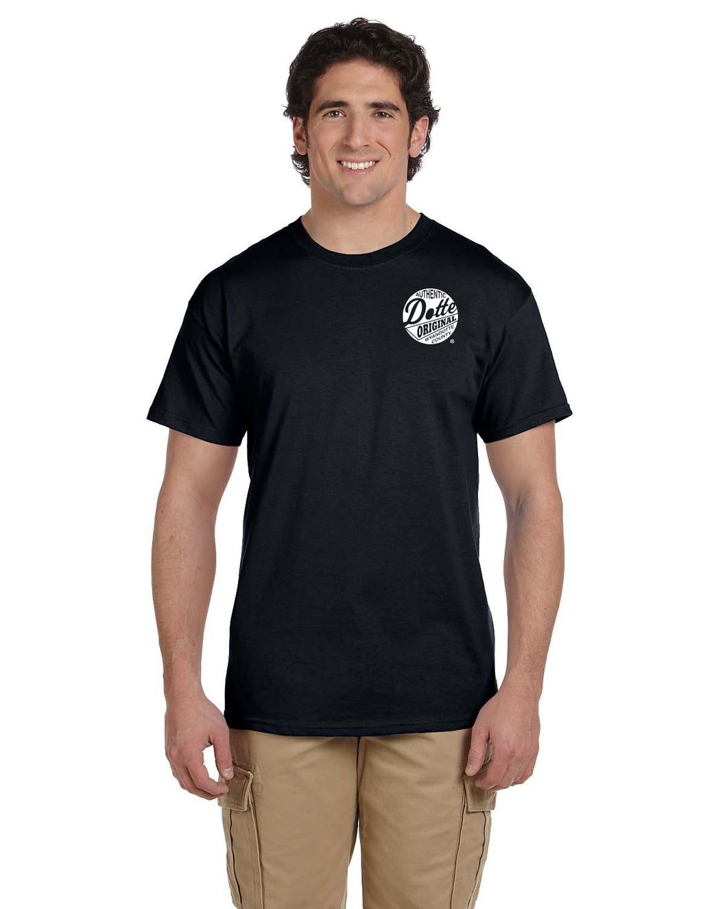 Adult Black Dotte Shirt