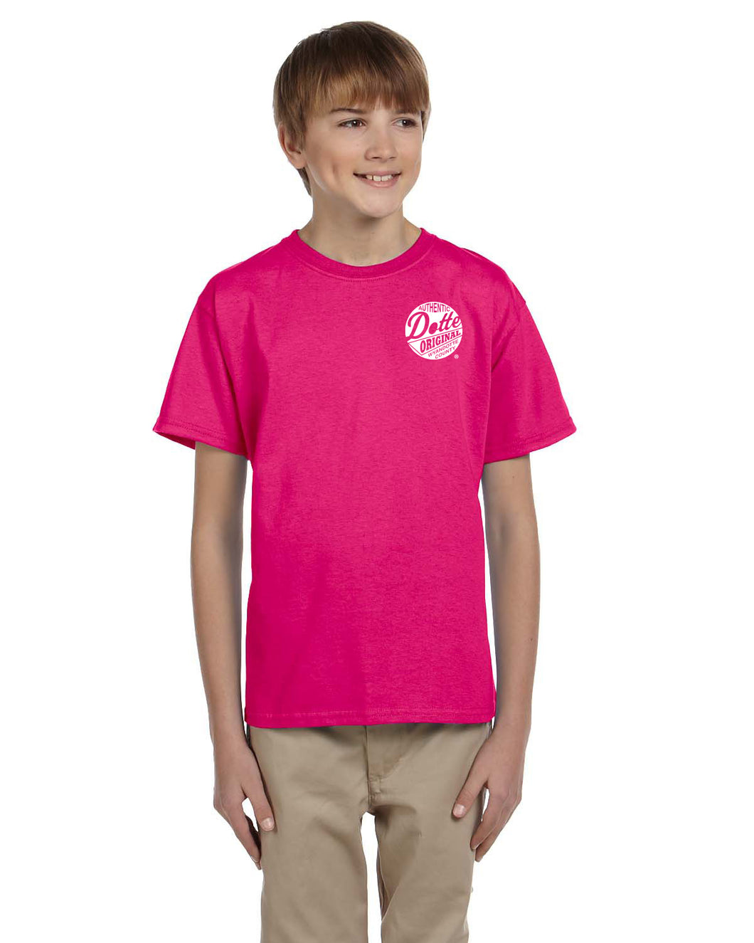 Youth Pink Dotte Shirt