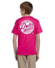 Load image into Gallery viewer, Youth Pink Dotte Shirt
