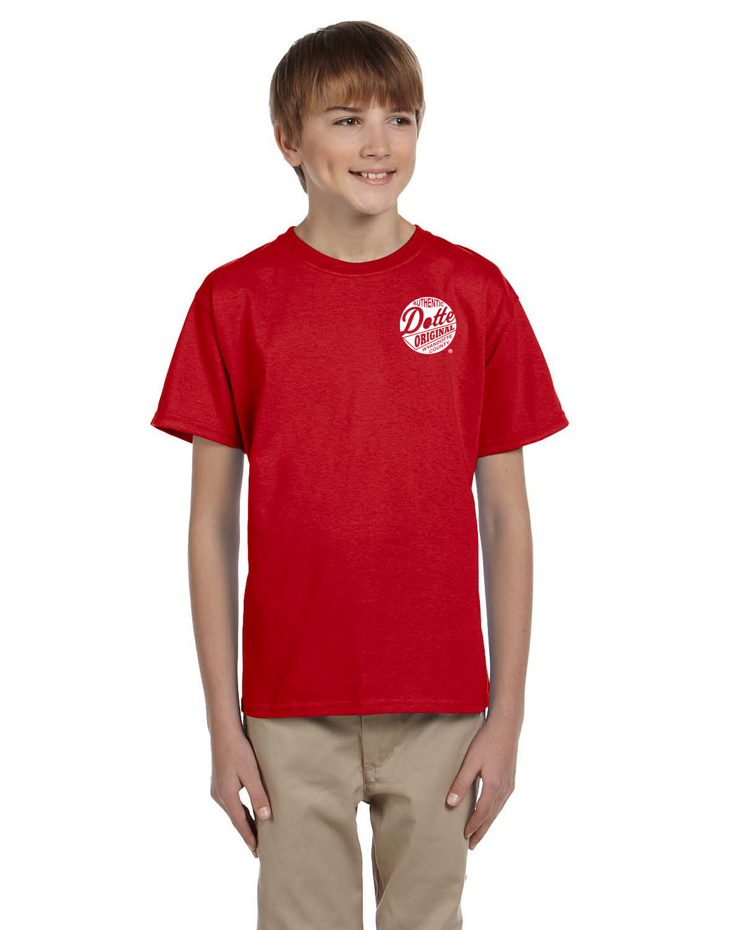 Youth Red Dotte Shirt