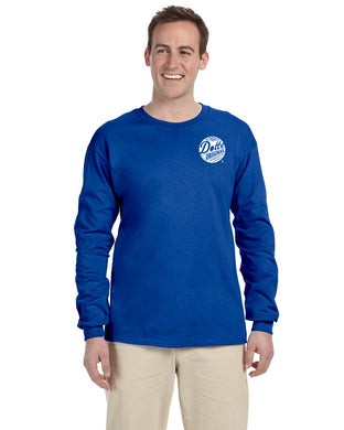 Adult Royal Long Sleeve Dotte Shirt