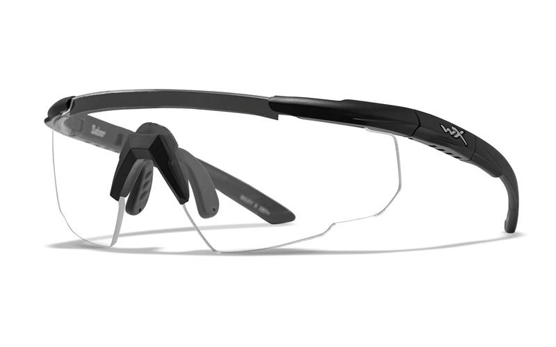 Wiley X Schutzbrille SABER ADV Black - Clear