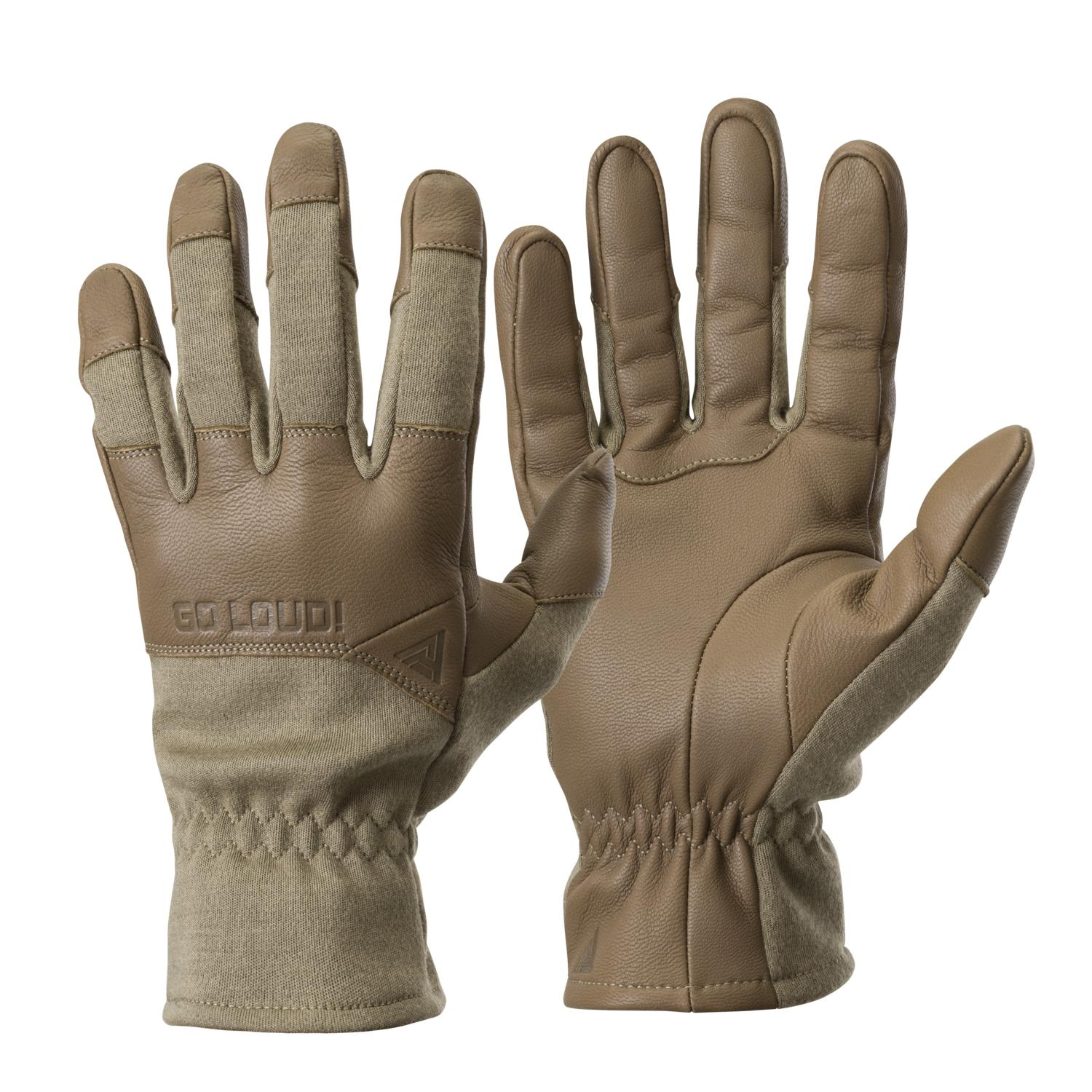 Direct Action Crocodile FR Gloves Long® - Nomex Light Coyote