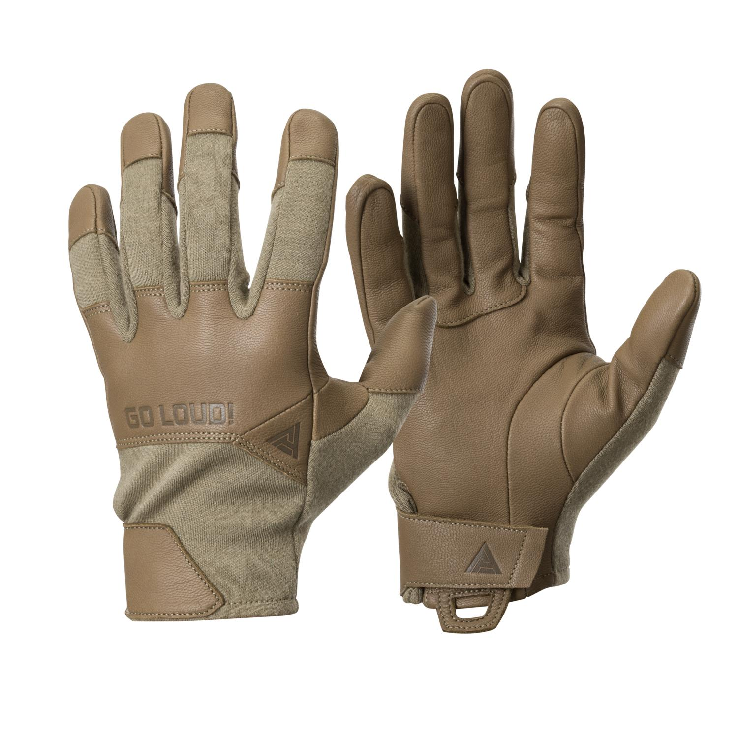 Direct Action Crocodile FR Gloves Short® - Nomex Light Coyote