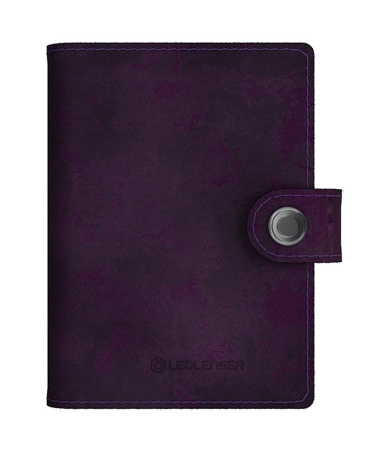 LED Lenser Lite Wallet Matte Deep Wine