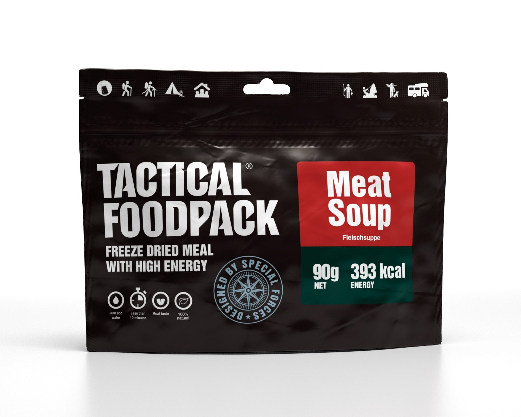 Tactical Foodpack Fleischsuppe