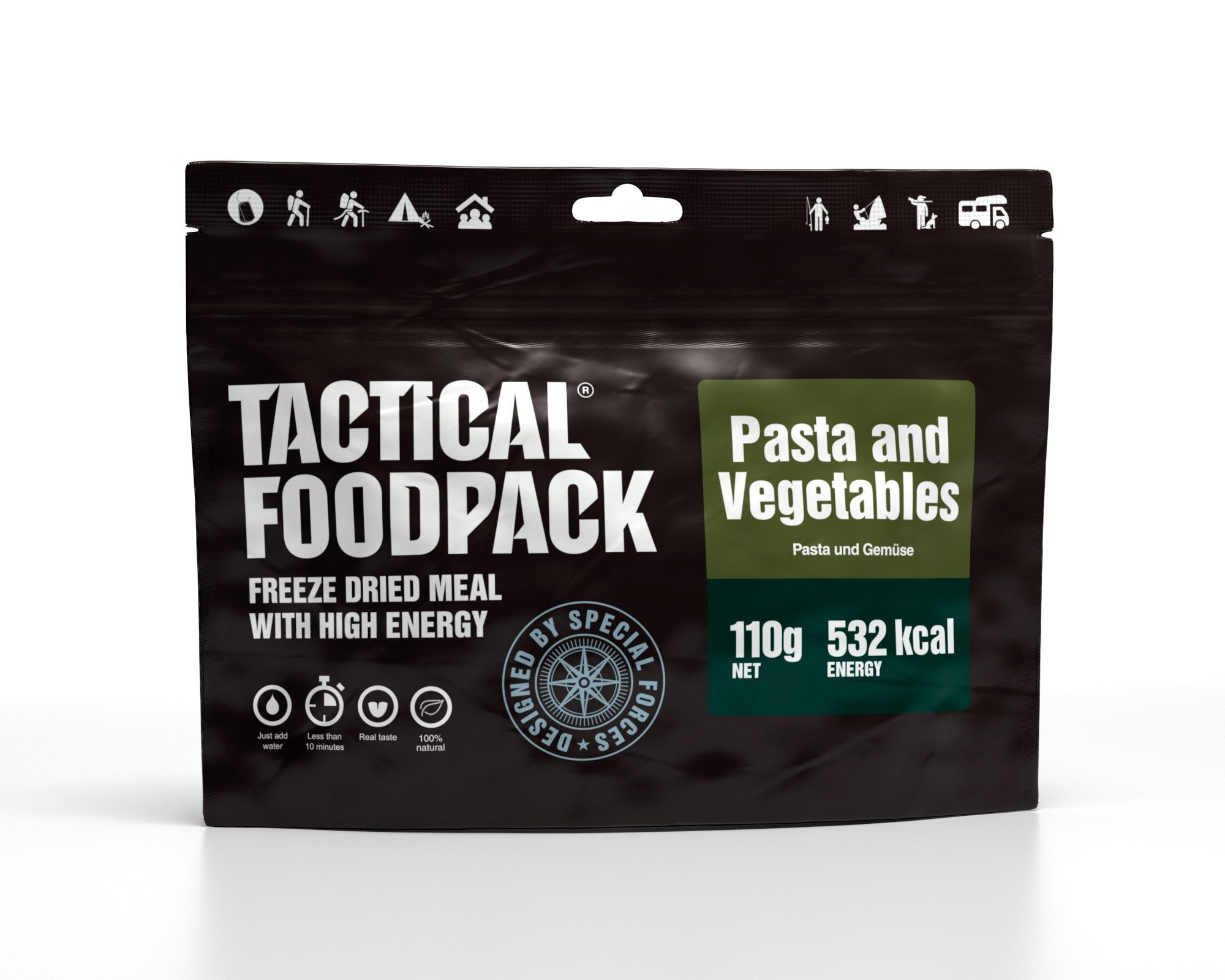 Tactical Foodpack Gemüse Pasta