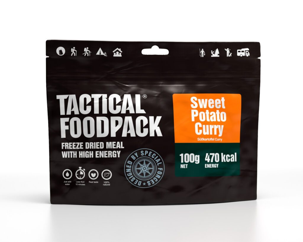 Tactical Foodpack Süsskartoffel-Curry