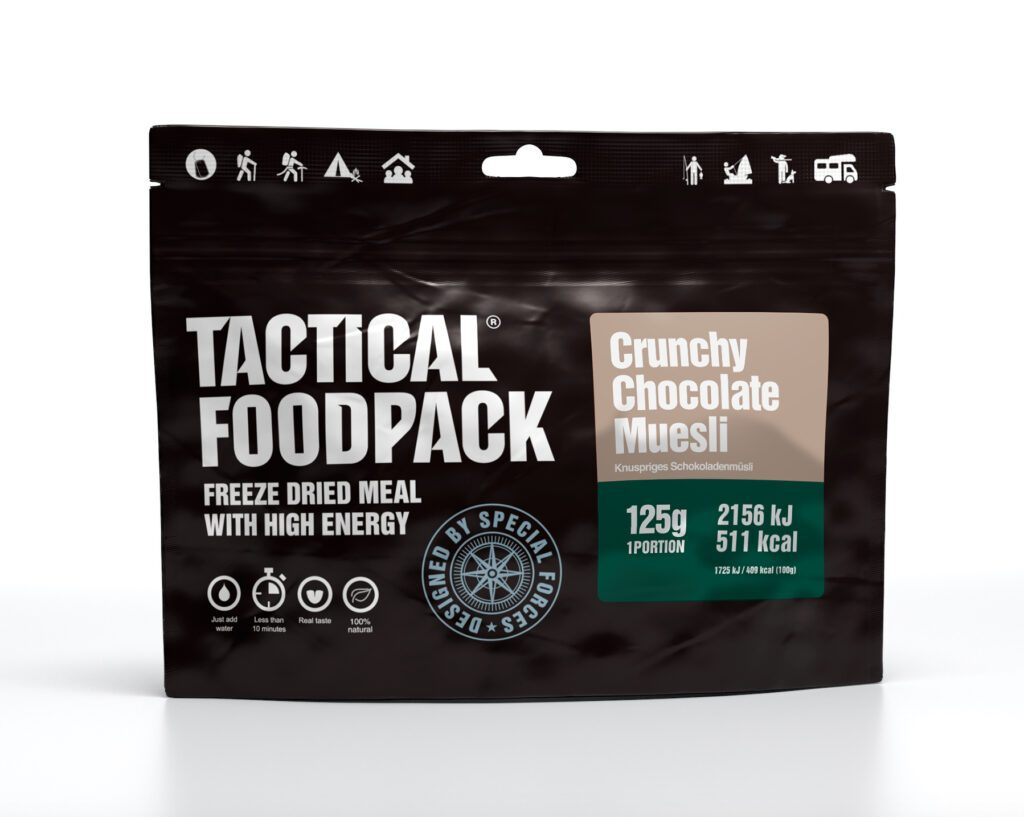 Tactical Foodpack Knuspriges Schokomüsli