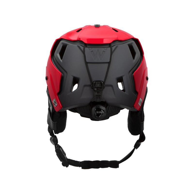 Team Wendy M-216™ Ski Helm Red/Gray