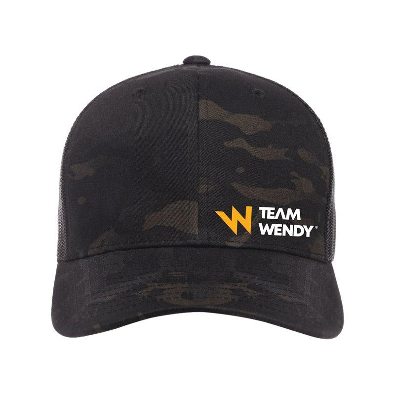 Team Wendy MultiCam Black Trucker Hat