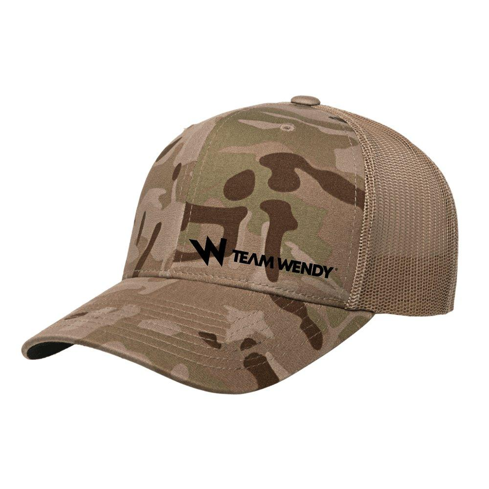 Team Wendy MultiCam Arid Trucker Hat