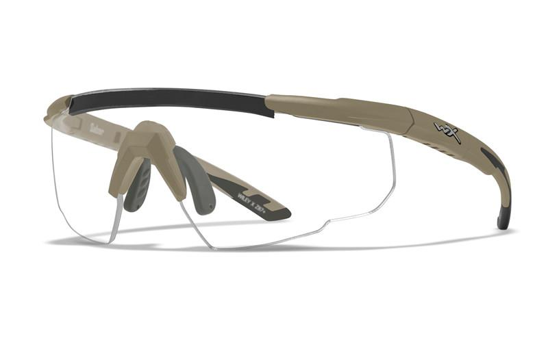 Wiley X Schutzbrille SABER ADV Tan - Smoke Grey + Clear + Light Rust