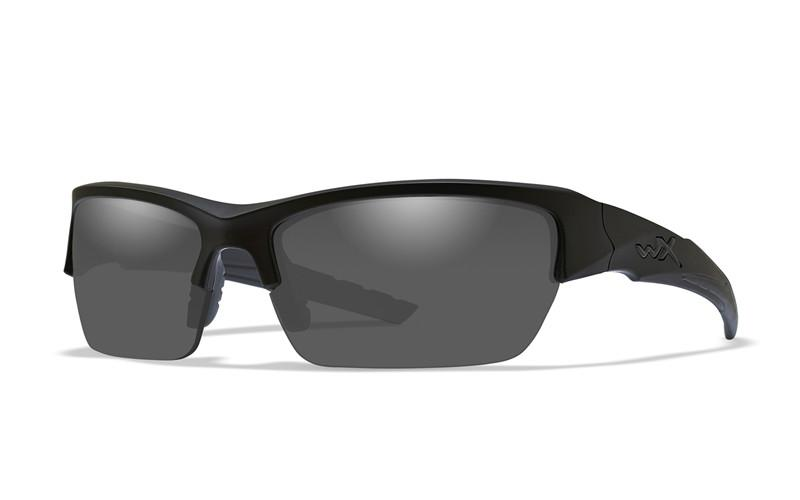 Wiley X Schutzbrille VALOR Matte Black - Polarized Smoke Grey