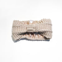 Satin-Lined Ear Warmer Headband