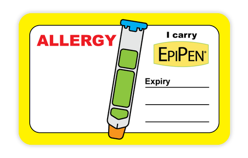 I Carry An EpiPen