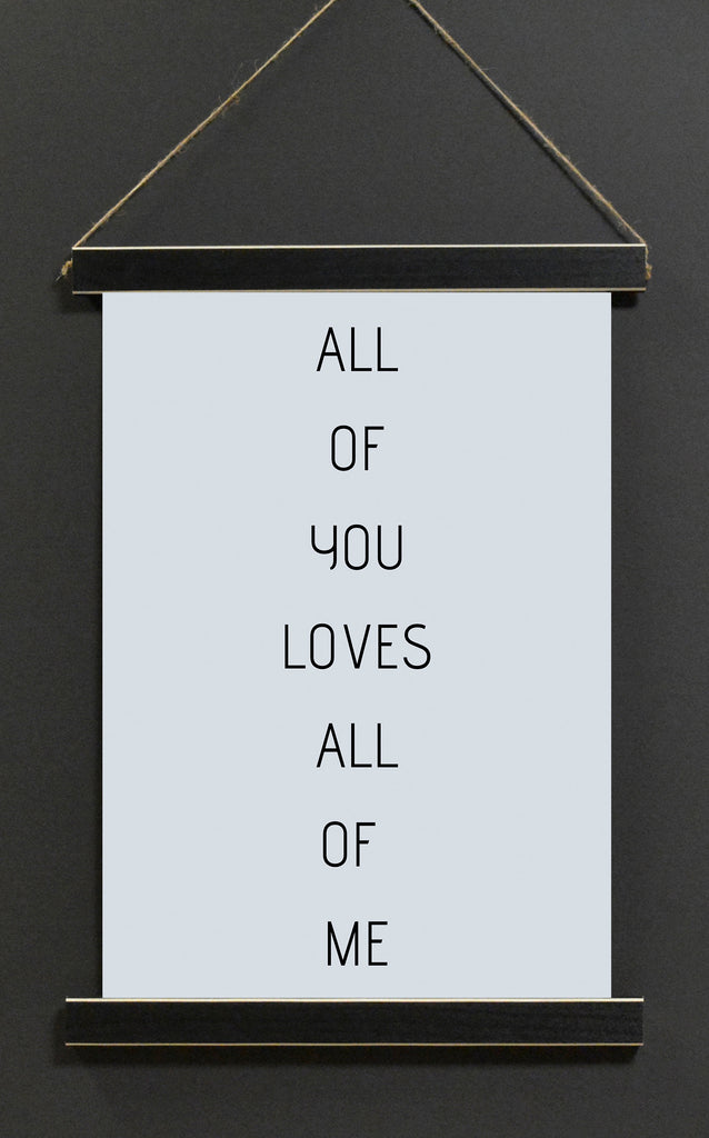 All of You Loves All of Me