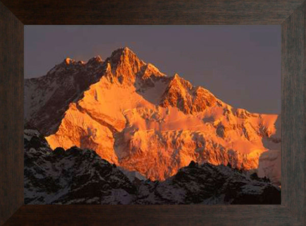 Dawn on Kangchenjunga