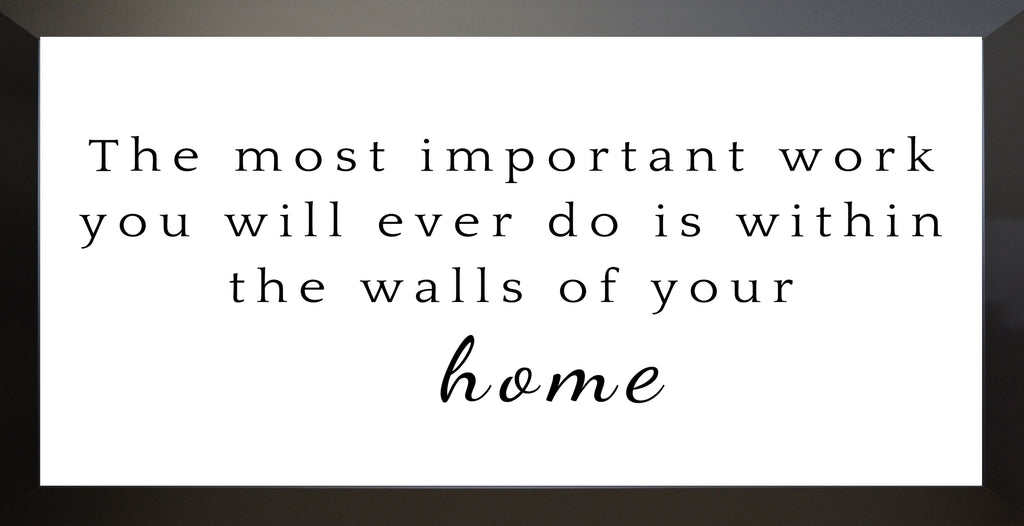 Walls of your Home