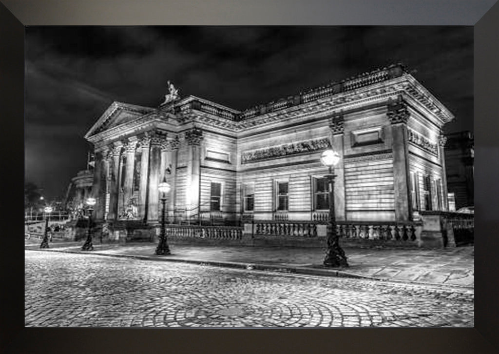 Walker Art Gallery at Night