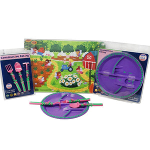Constructive Eating - GARDEN FAIRY COMBO SET