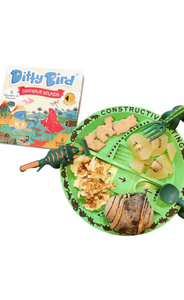 Constructive Eating x Owl Readers Club - Bundle A Ditty Bird Dinosaurs