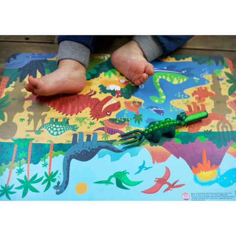 Constructive Eating - DINOSAUR DINING PLACEMAT