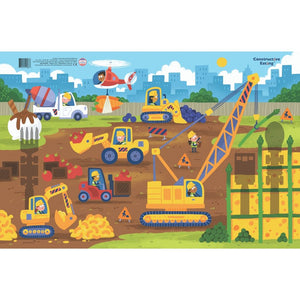 Constructive Eating - CONSTRUCTION DINING PLACEMAT