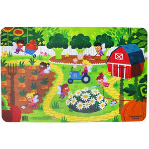 Constructive Eating - GARDEN FAIRY PLACEMAT