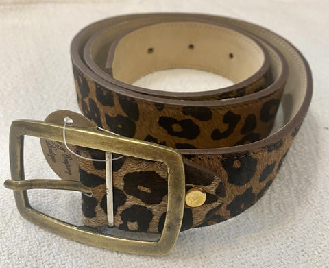 "Cheetah 38"" Wide Buckle Belt"