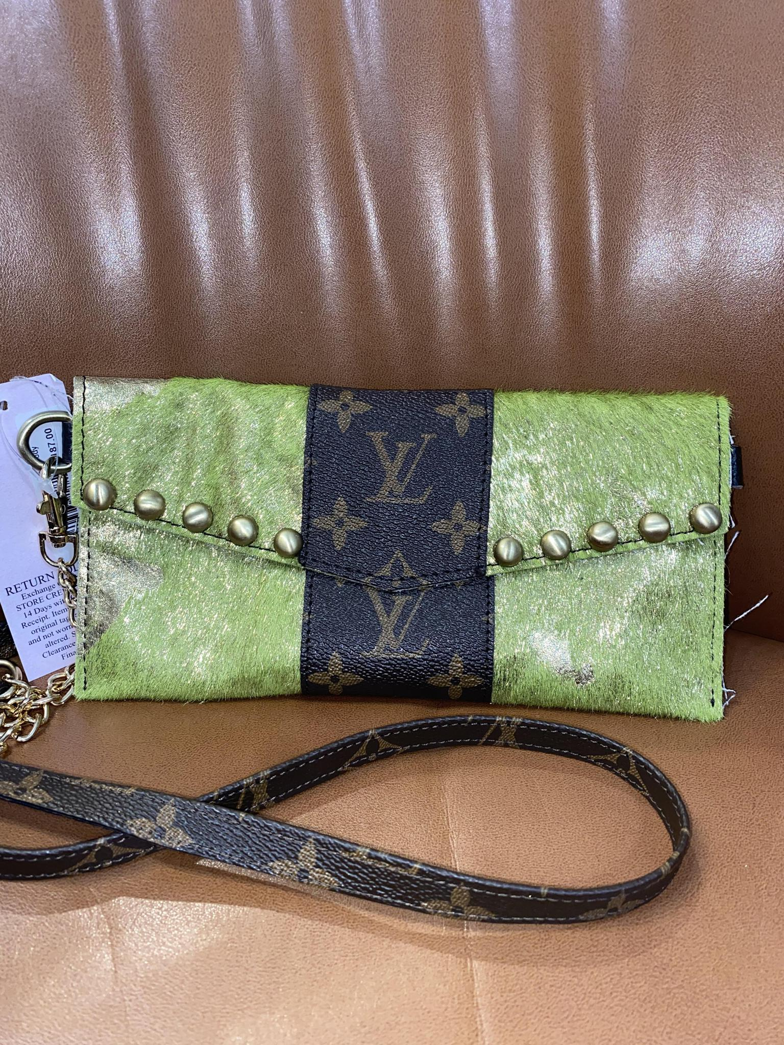 Apple Green LV Crossbody