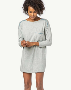 Heather Grey Sleep Dress