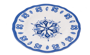 Dinner Plate Blue China Melamine