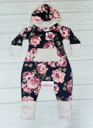 Custom Hooded Romper