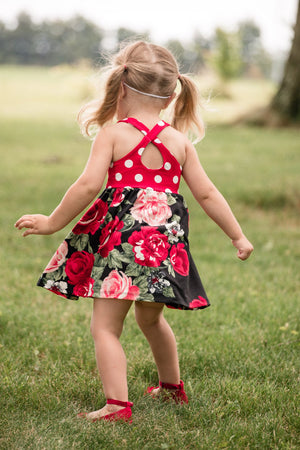 Child Criss Cross Dress