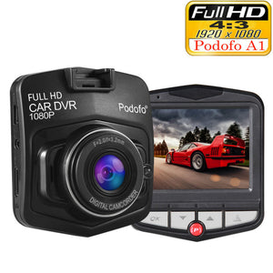 Original Podofo A1 Mini Car DVR Camera Dashcam Full HD 1080P Video Recorder G-sensor Night Vision