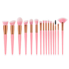 Load image into Gallery viewer, 7 make up brush Face powder contour eye brush set #7